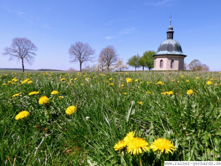 Gerchsheim: Kriegergedächtniskapelle an Ostern 2019