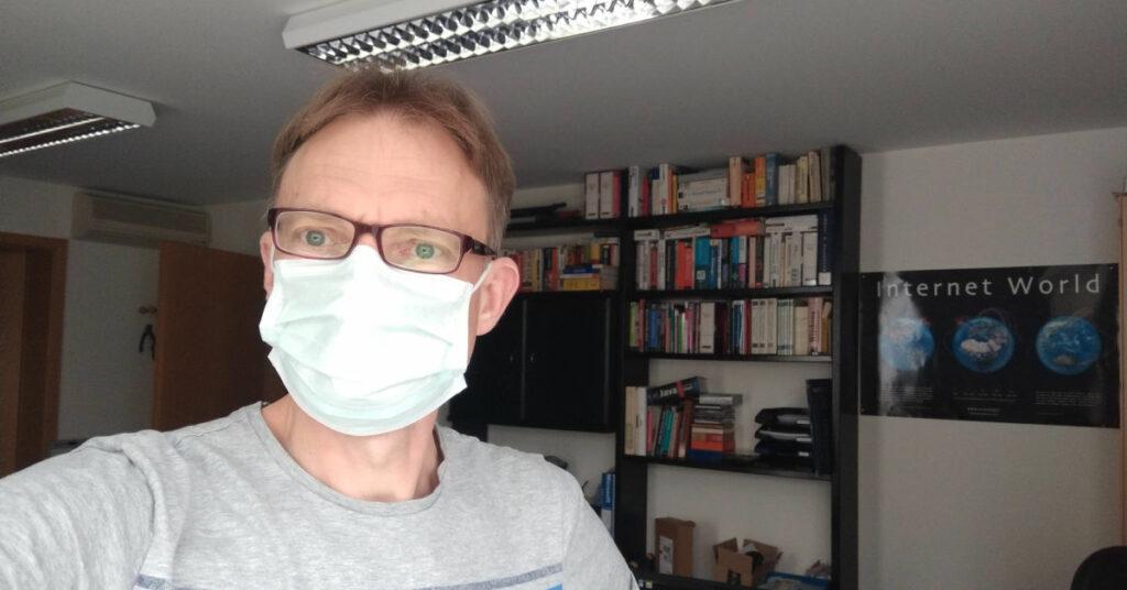 Mundschutz OP Maske in Corona-Zeiten