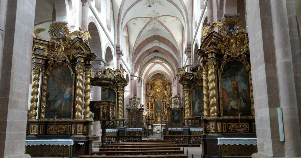 Klosterkirche in Bronnbach