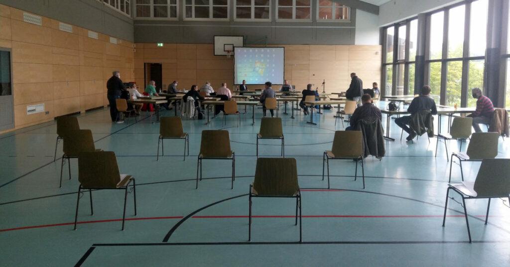 Sitzung des Gemeinderats Großrinderfeld am 12. Mai 2020
