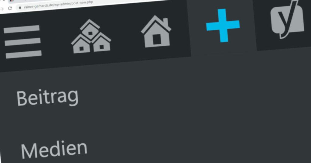 """Symbolbild """"WordPress Bearbeiten"""""""