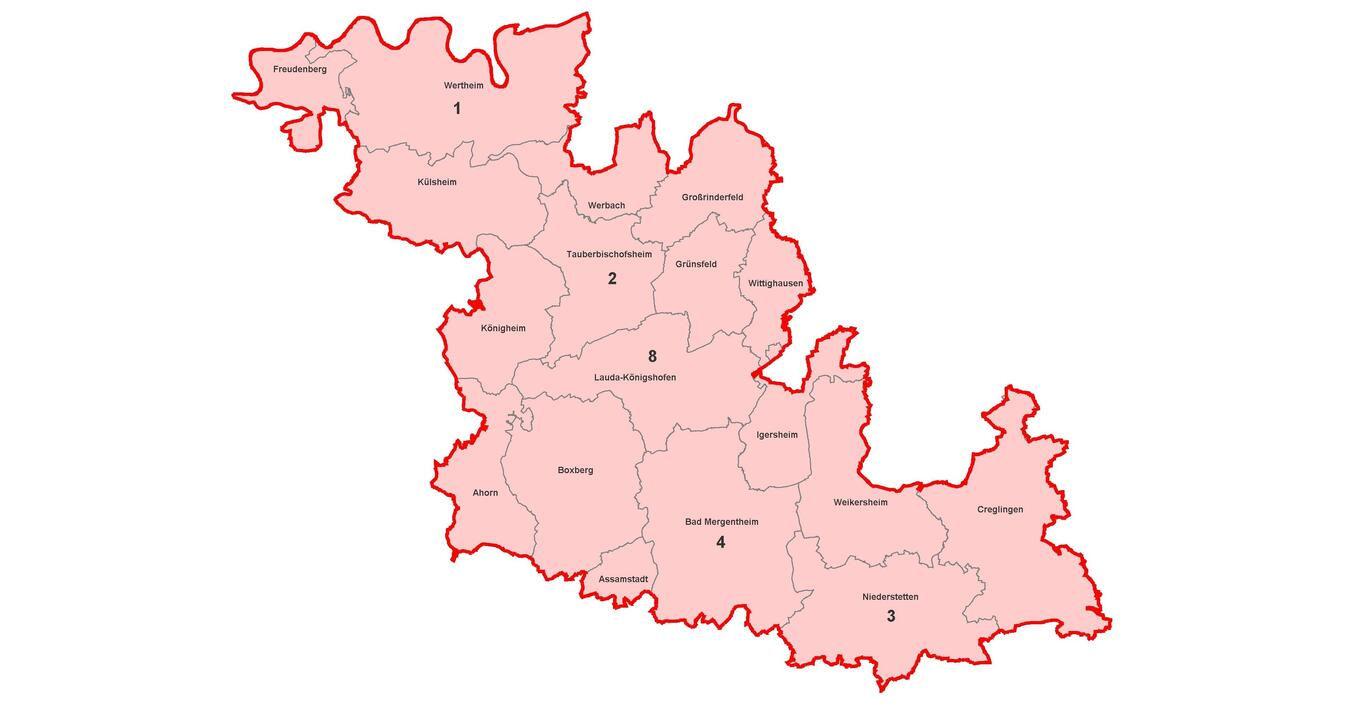 Corona Karte Kreise