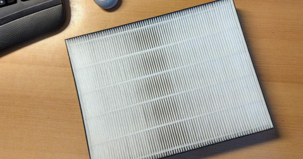 Foto eines HEPA Filters (H14)